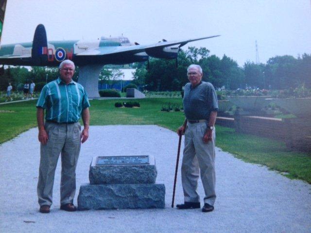 Dad and Grandpa Egan