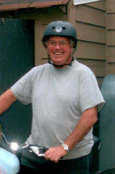 Dad - biking