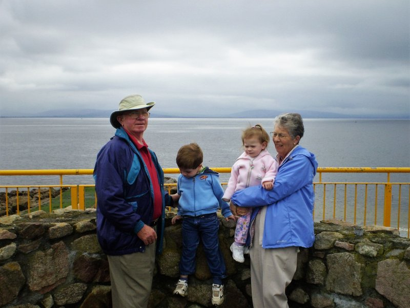 Galway Bay with Grandma & Grandpa