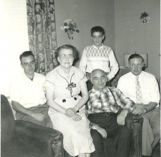 Dad with family 001