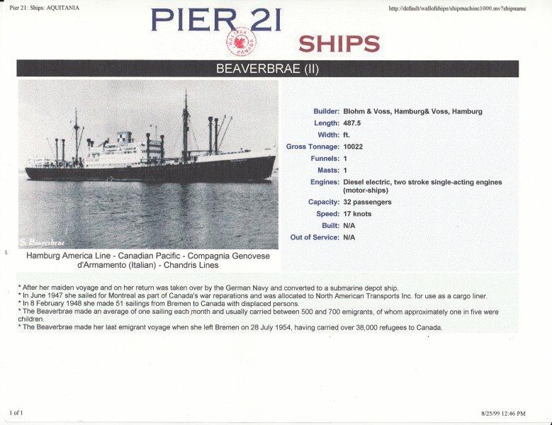 1952 Beaverbrea