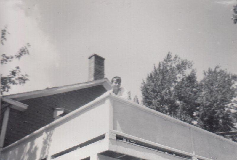 1957 on the porch