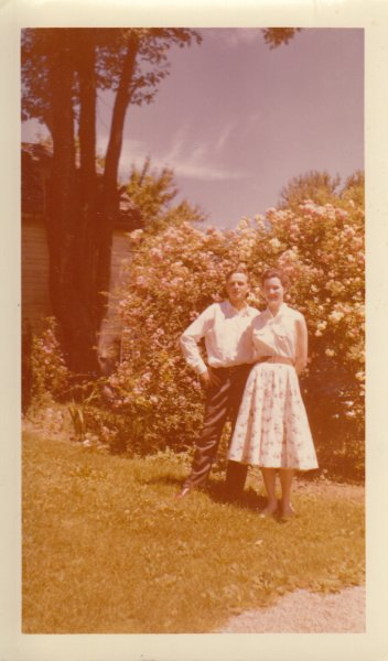 1957ish Young couple1