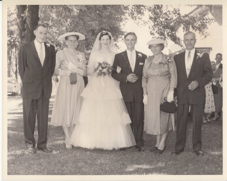 1958 Aug 2 wedding