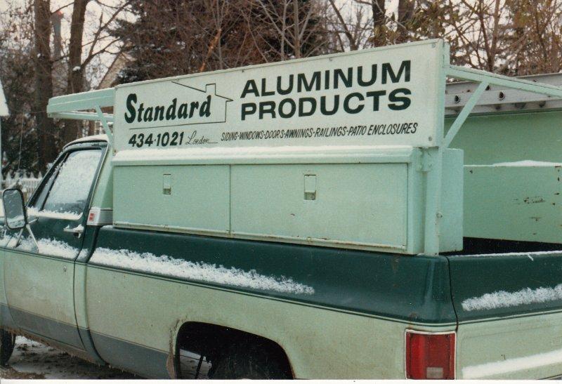 1980s Aluminum truck