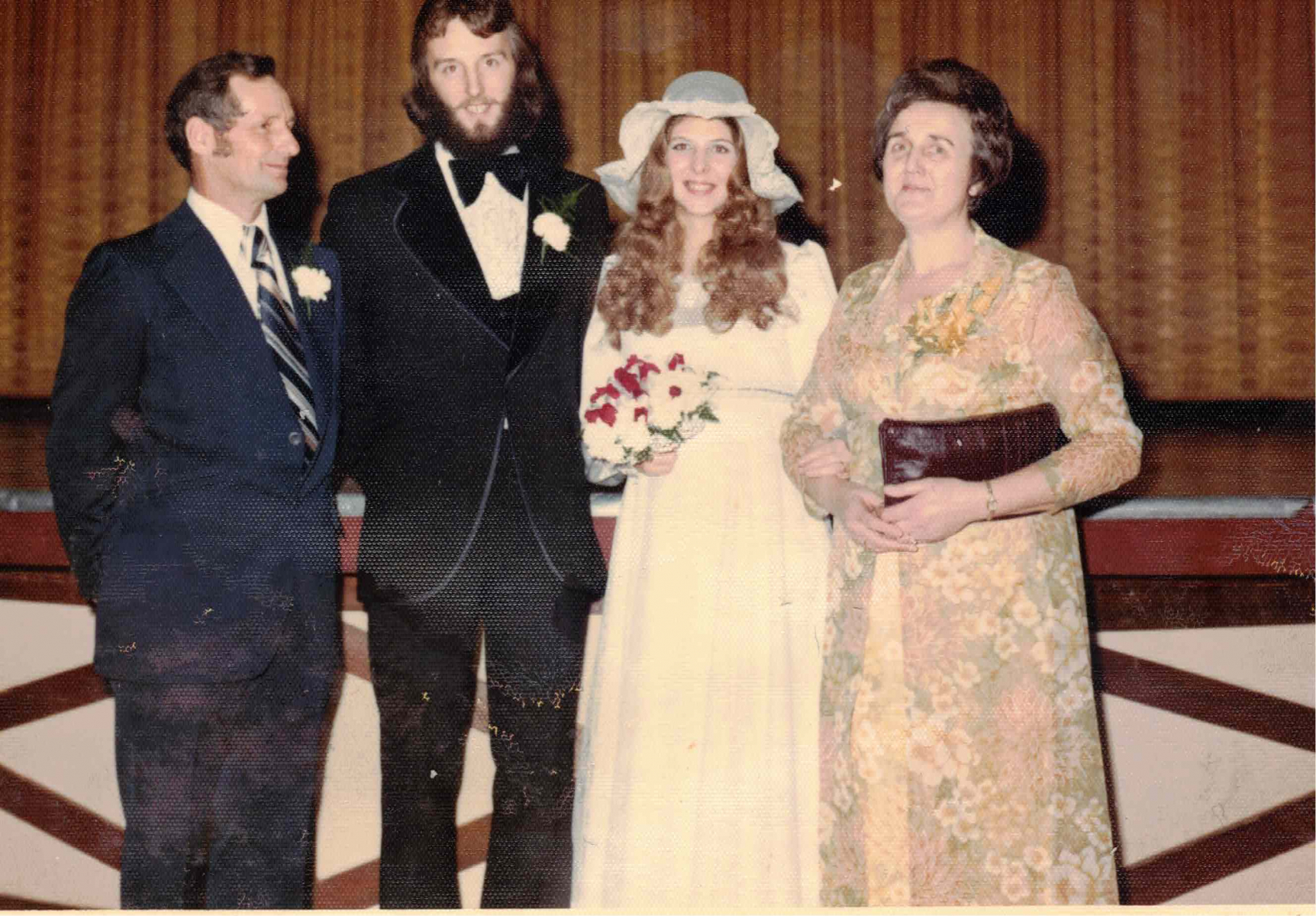 George-Catherine-Wedding