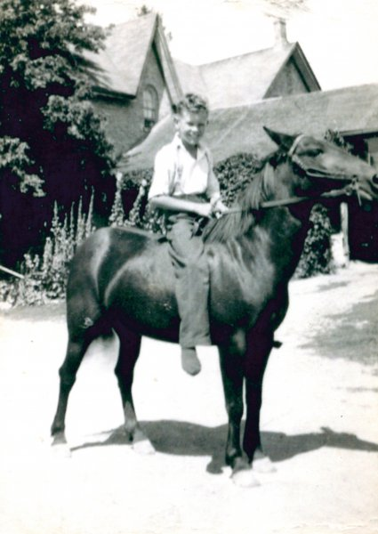 Brock Tom - Young w Horse