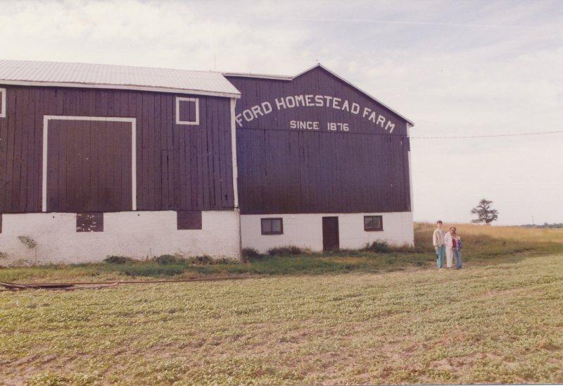 Ford Farm Visit (1989) (3)