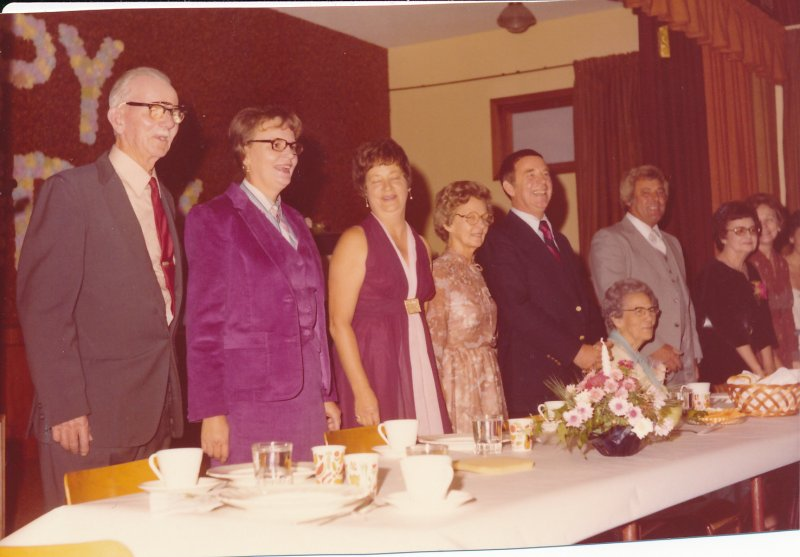 Jessie Ford (1980) 90th Birthday Uncle Henry_Faye_Myrt_Dorothy_Lloyd