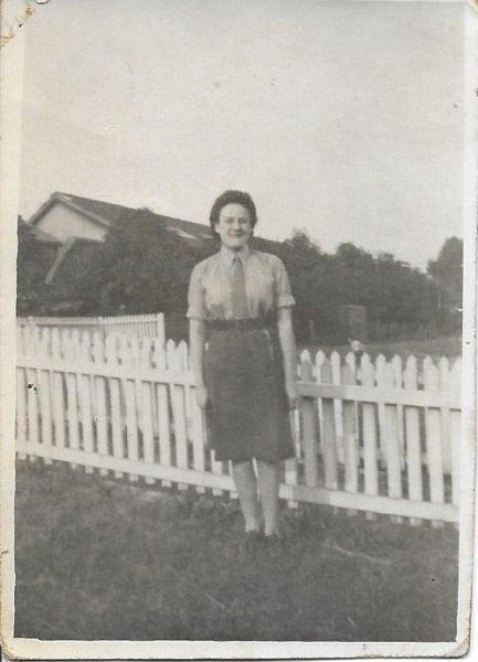 1943 Gladys 20ys Barracks in Wrecham,Wales 1