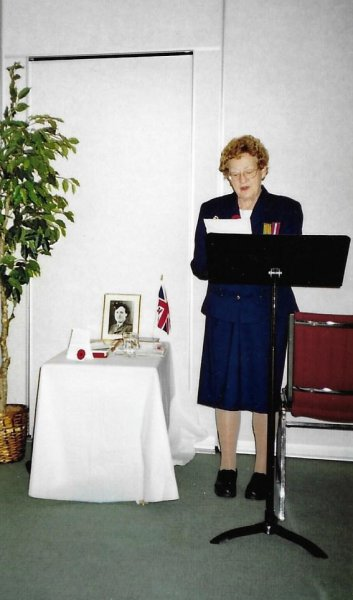 Nov 2015 Remembrance Day meeting