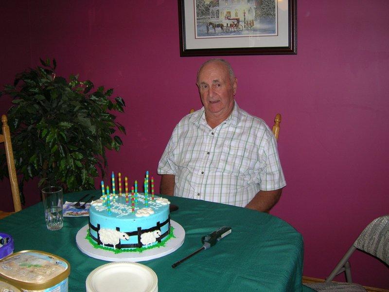 Dad 80th 1