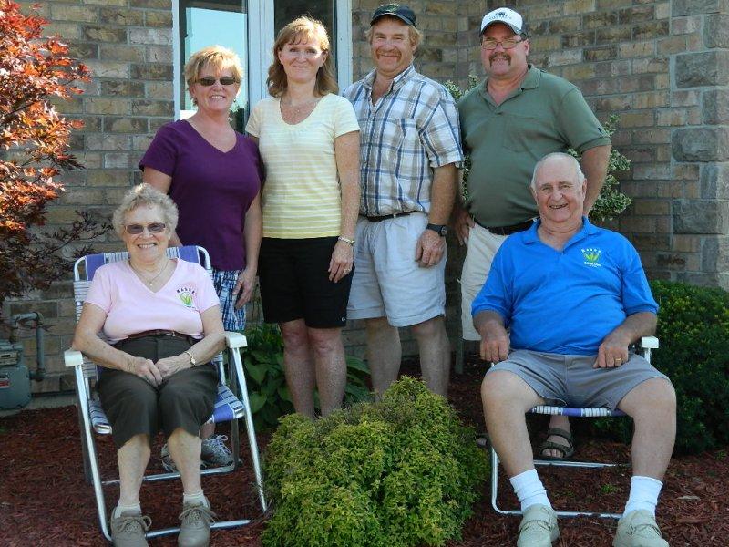 family pic 81st birthay