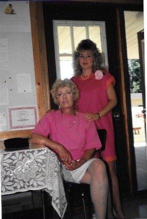 Joyce & Kandice At Shower