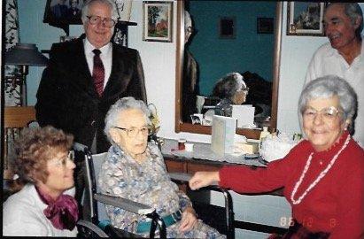 Joyce With Family