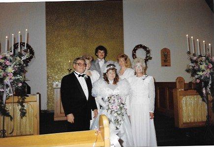 Kim's Wedding Family Pic