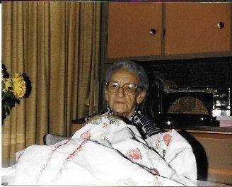Mom's Grandma Gasho
