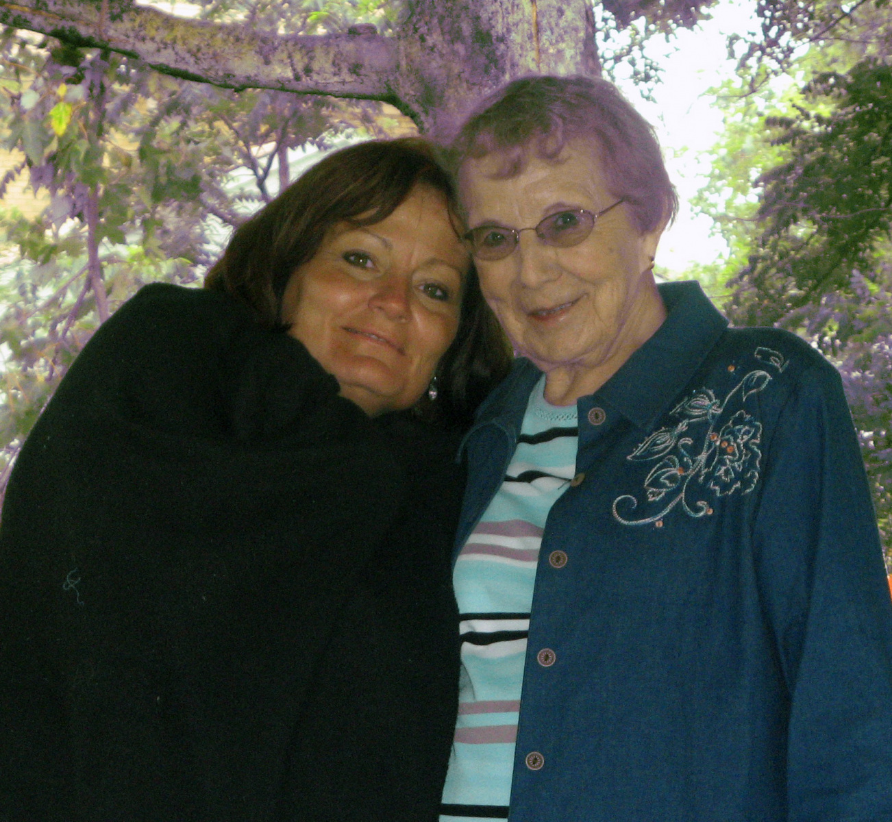 Robin-and-Mom