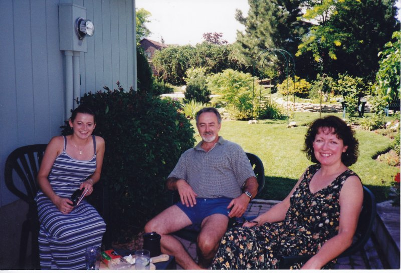 196. Dana with Deb and Bruce Grant in Lucan, ON