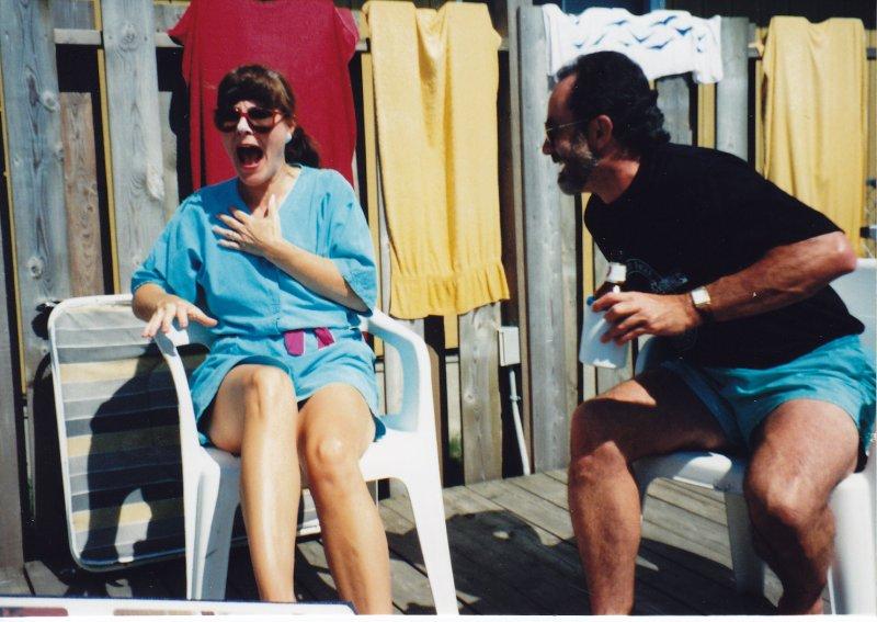6. Bruce Grant & Marsha July 1991