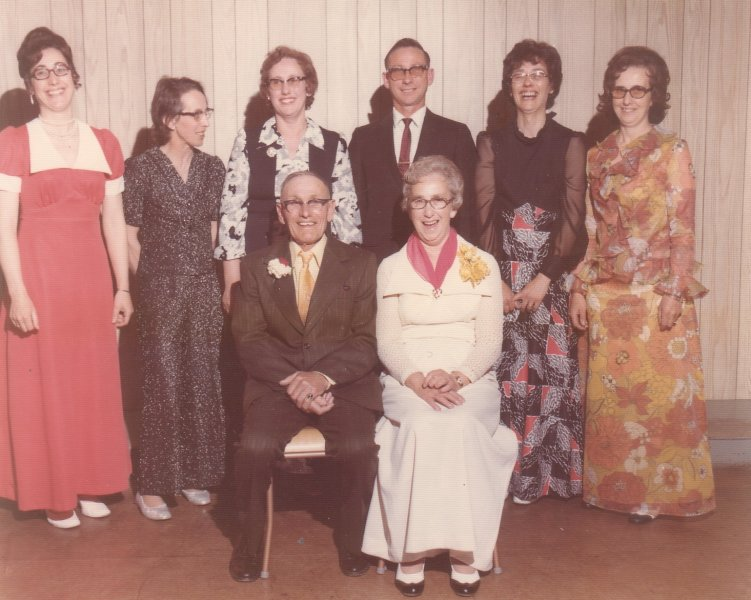 Aunt Mable family from West