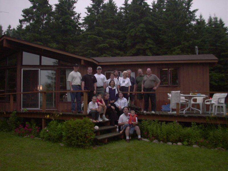 Cottage 2002 family photo