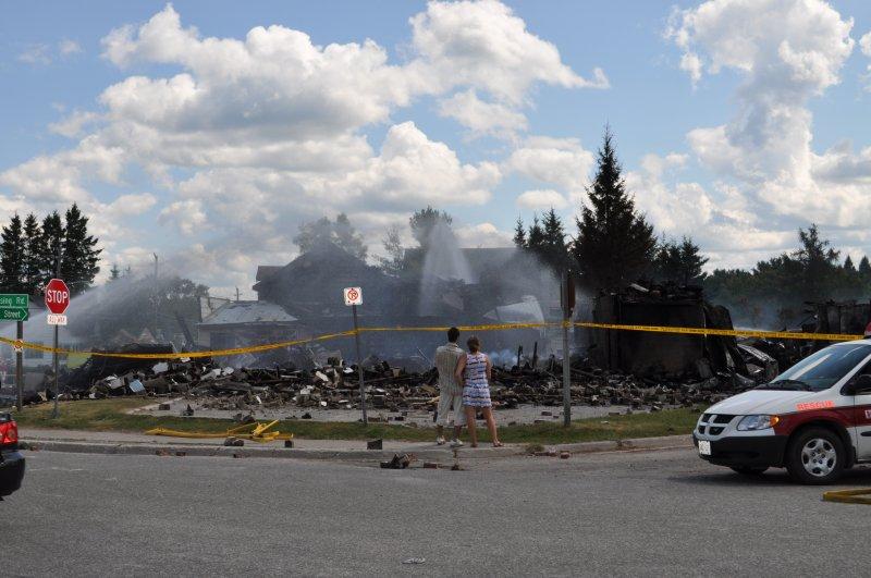 Cottage 2011 Magnetewan fire