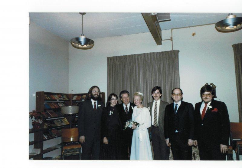 Dad Elsie wedding family photo
