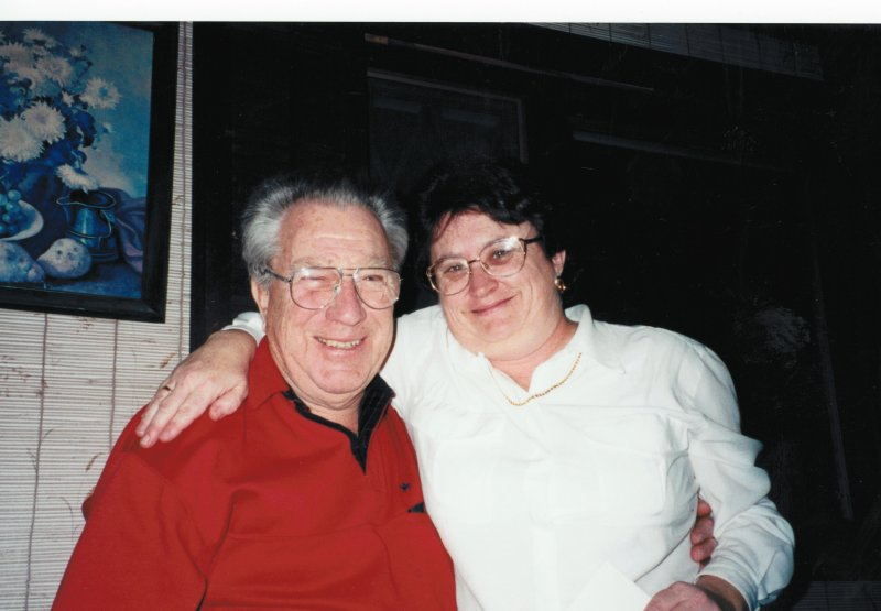 Dad and Mary H circa 1995
