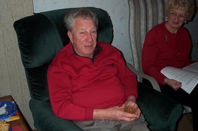 Dad christmas 2001