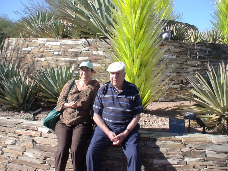Dad in Phoenix4 with Mary Case