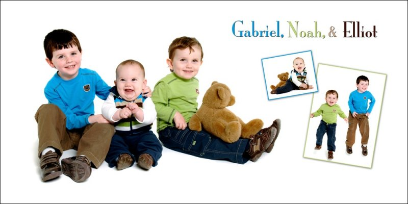 Gabriel Noah and Elliott poster