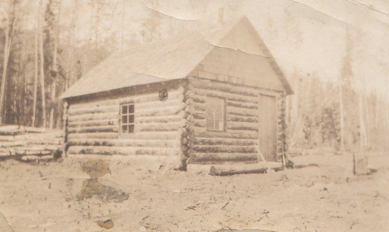 Grandma Dool house BC  log construction circa 1890