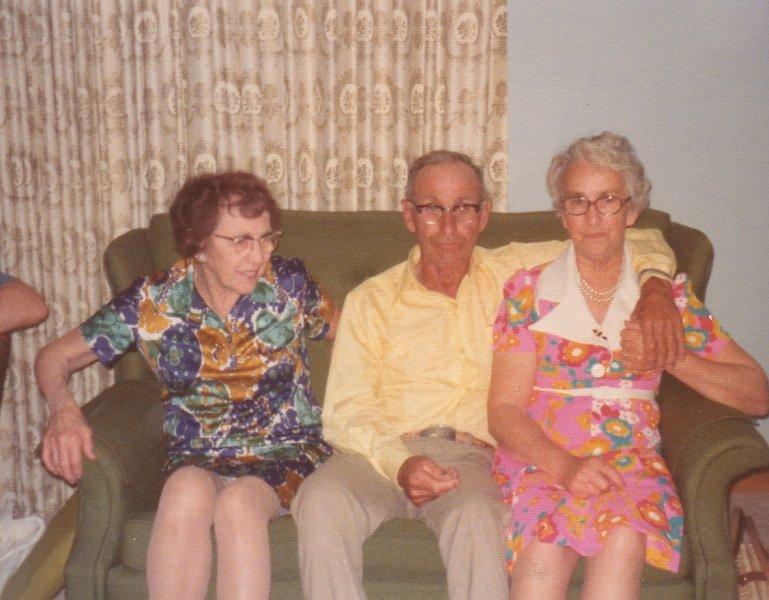 Grandma Petrie, Uncle Sam, Aunt Mable