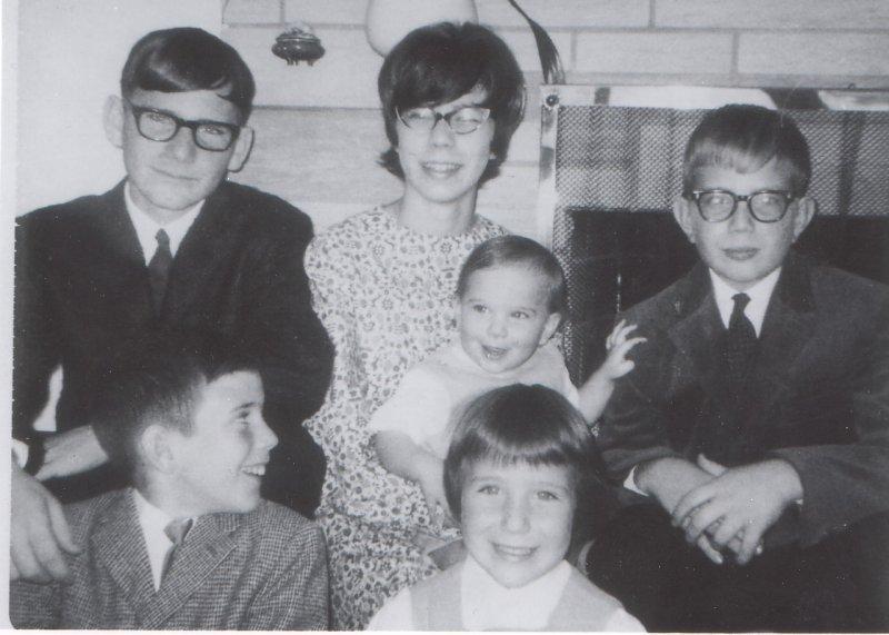 Hermann family November 1966 Ken Jr 15  years