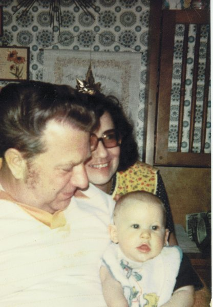 Mom Dad and Michael 1975