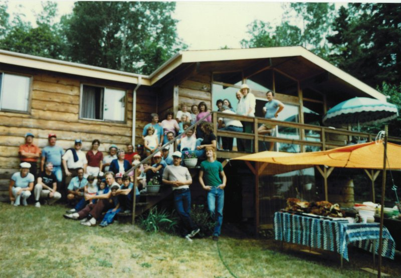 Pig roast at Seguins circa 1984
