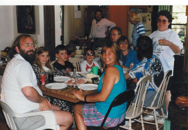 cottage family dinner 1994-2
