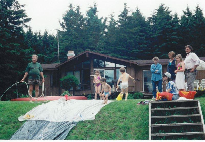 cottage water slide 1994