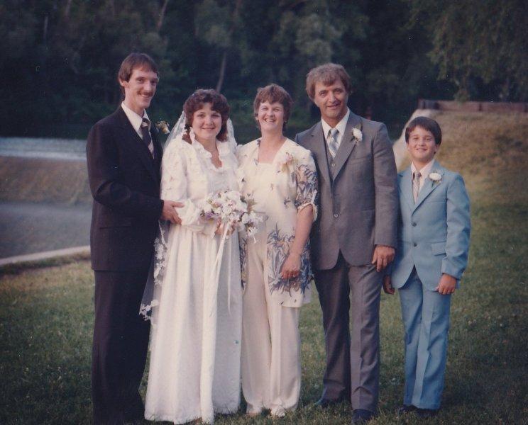 Dad, Gloria & Jay at my wedding