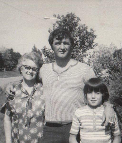 Dad, Grandma Nina, Derek