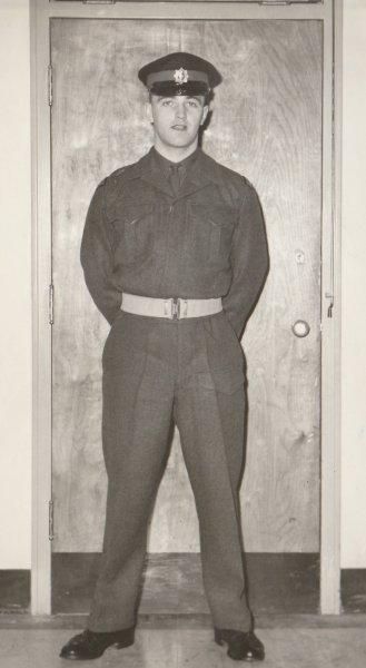 Dad in Army uniform in 1960