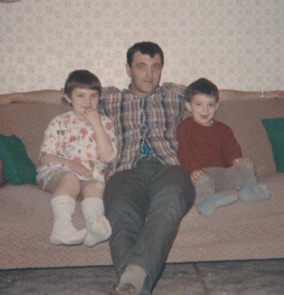 Dad with Derek & I