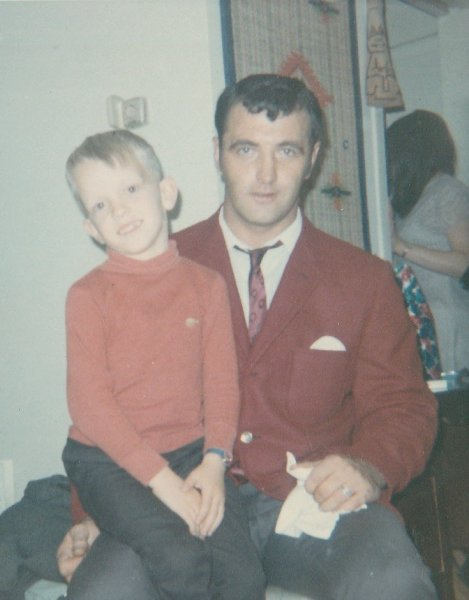 Dad with nephew Micheal Hippern