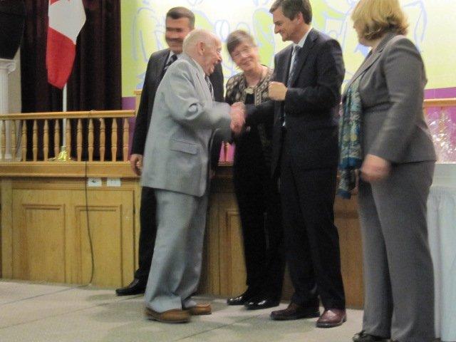 volunteer award - Chris Bentley