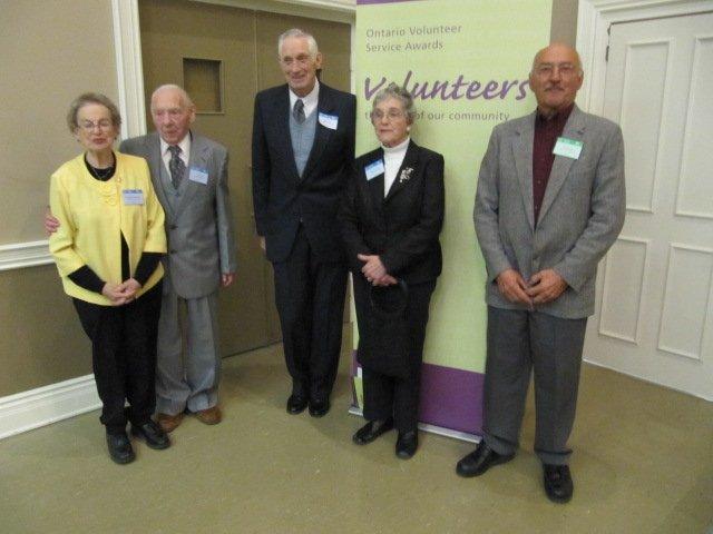 volunteer award - group