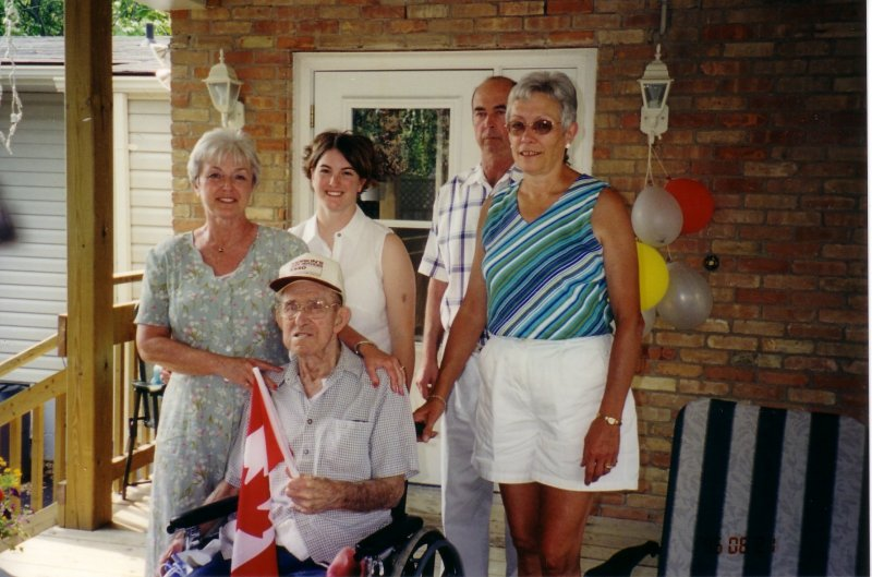 Grandpa's 90th birthday (2003)