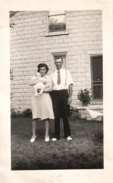 Mom and Dad with Joe (1944)