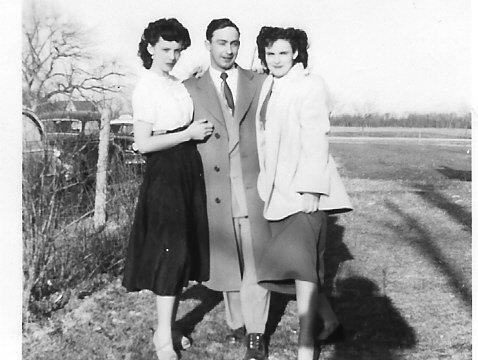 Bernice, Clem & Eileen O'Leary
