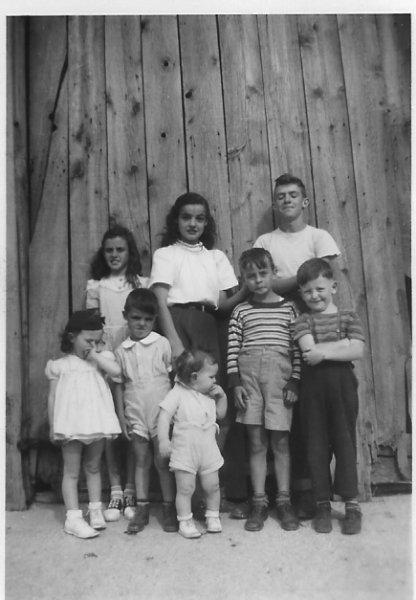 Betty, Theresa, & John O'Leary, Patey, Mike & Jerry Costello